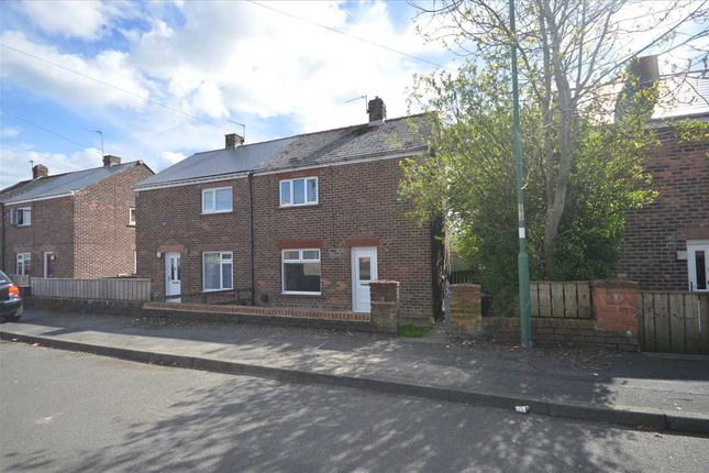 Thumbnail Semi-detached house for sale in Willow Crescent, Leadgate, Consett