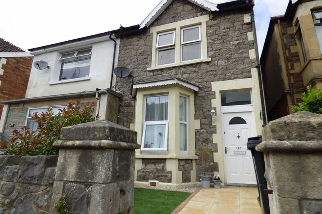 Thumbnail Semi-detached house for sale in Moorland Road, Weston-Super-Mare