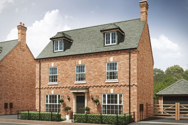 "Thumbnail Detached house for sale in ""The Leicester 4th Edition"" at Davidsons At Wellington Place, Leicester Road, Market Harborough"