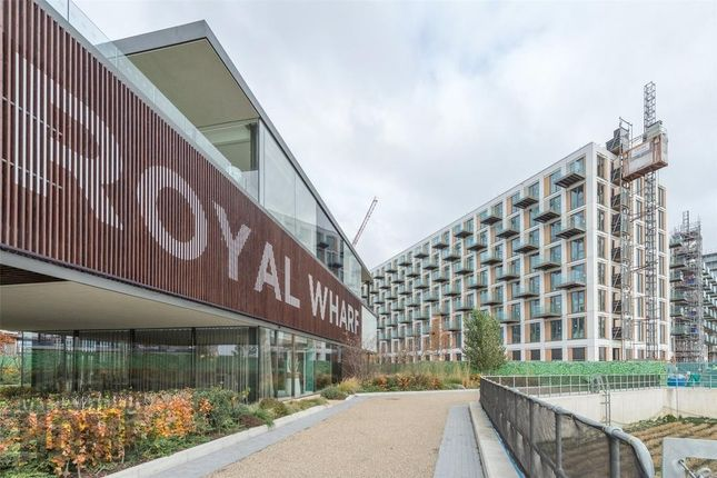 Thumbnail Flat to rent in North Woolich Road, Royal Wharf, London