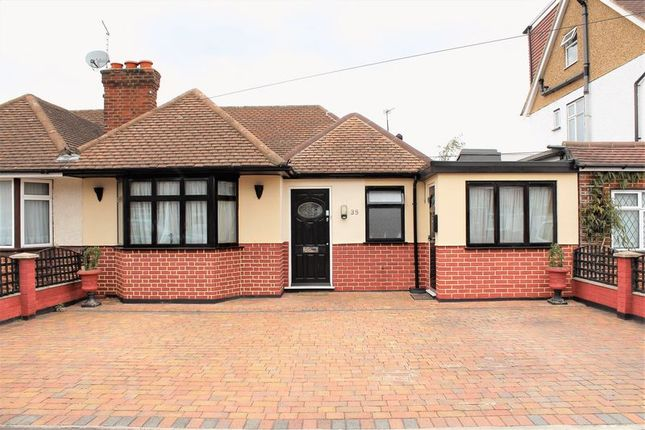 Thumbnail Semi-detached bungalow for sale in Jubilee Drive, South Ruislip, - Reduced