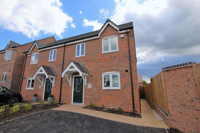 Thumbnail Semi-detached house for sale in The Broomfield, Devereux Grange, Great Haywood