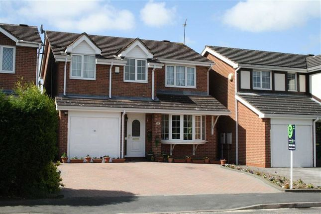 Thumbnail Detached house for sale in Barley Close, Glenfield, Leicester