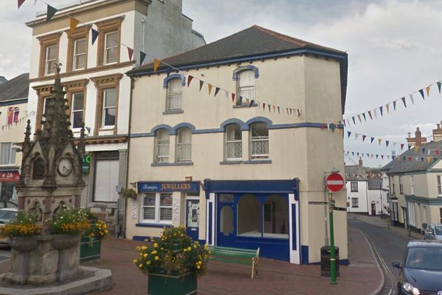 Thumbnail Retail premises for sale in High Street, Torrington