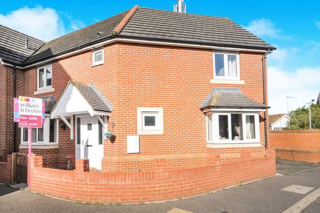 Thumbnail Semi-detached house for sale in Rosseter Close, Chelmsford