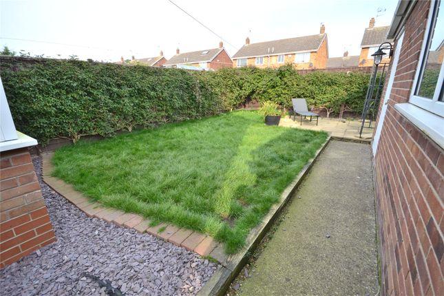 Rear Garden of Abbots Close, Hull HU8