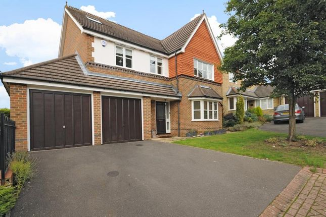 Thumbnail Detached house to rent in Tithe Close, Virginia Water