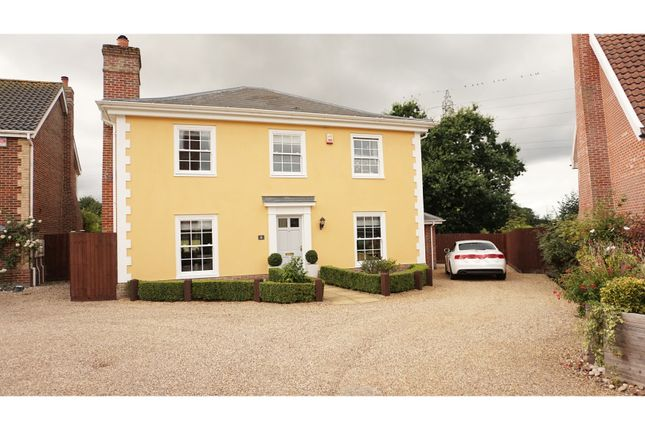 Thumbnail Detached house for sale in Denmark Court, Palgrave, Diss