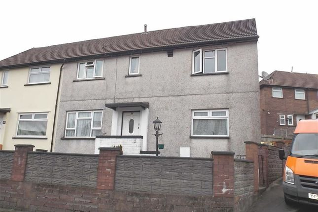 Thumbnail Semi-detached house to rent in Heol-Y-Mynydd, Ystrad, Pentre