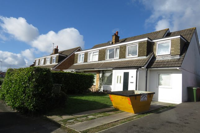 Thumbnail Semi-detached house for sale in Clifton Avenue, Plympton, Plymouth