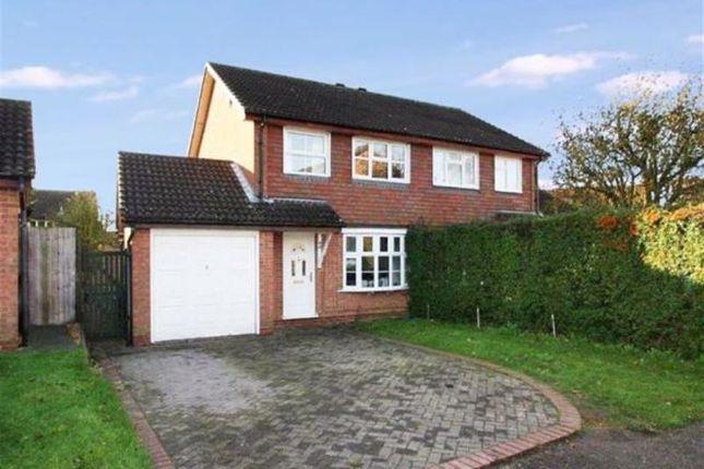 3 bed semi-detached house for sale in Wodhams Drive, Brackley NN13