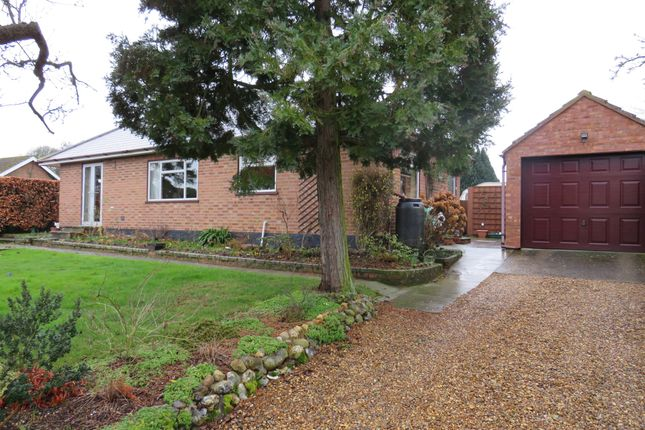 Thumbnail Bungalow for sale in Main Road, Swardeston, Norwich
