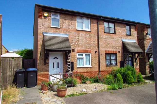 Thumbnail Semi-detached house for sale in Coalport Close, Harlow, Essex