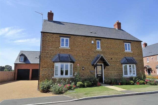 Thumbnail Detached house for sale in Watts Close, Kislingbury, Northamptonshire