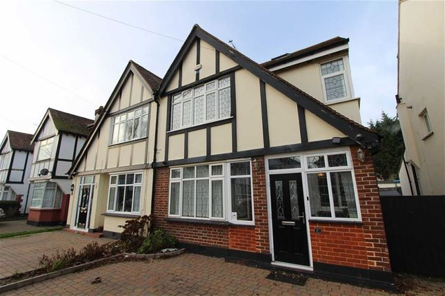 Thumbnail Semi-detached house to rent in Marlborough Road, Southend On Sea, Essex