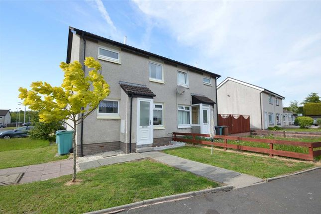Thumbnail End terrace house for sale in Muirhead Drive, Newarthill, Motherwell