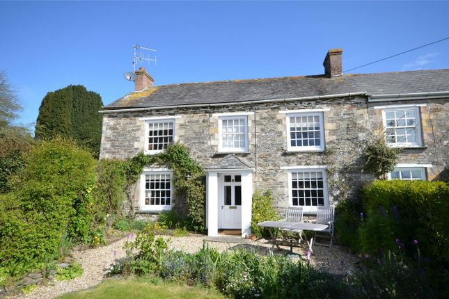 Thumbnail Semi-detached house for sale in Old Hill, Grampound, Truro, Cornwall