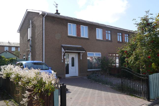 Thumbnail Semi-detached house for sale in Crandleyhill Road, Prestwick