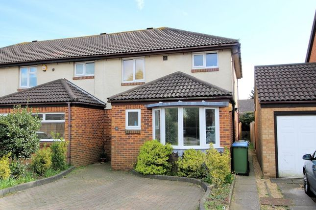 Thumbnail End terrace house for sale in Stonecrop Close, Locks Heath, Southampton