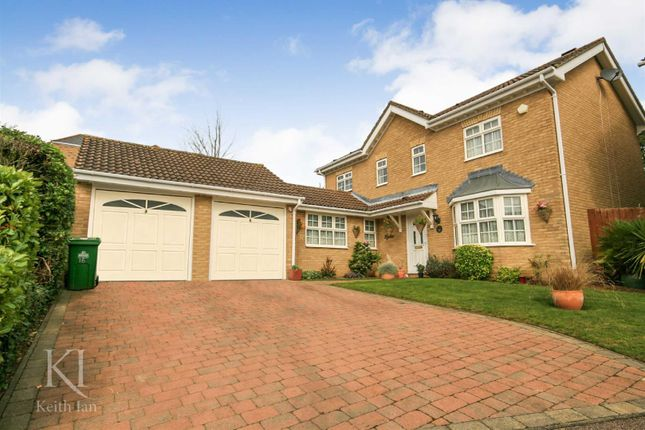 Thumbnail Detached house for sale in The Poplars, Cheshunt, Waltham Cross