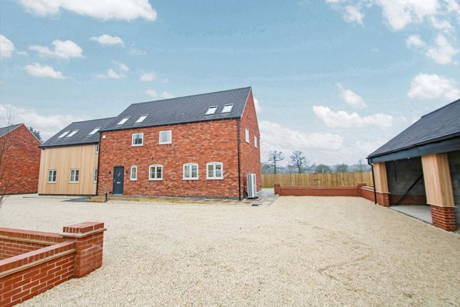 Thumbnail Detached house for sale in Mythe Bridge Farm, Ratcliffe Road, Atherstone