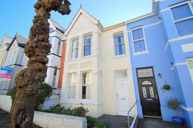 Thumbnail Terraced house for sale in Bickham Park Road, Plymouth