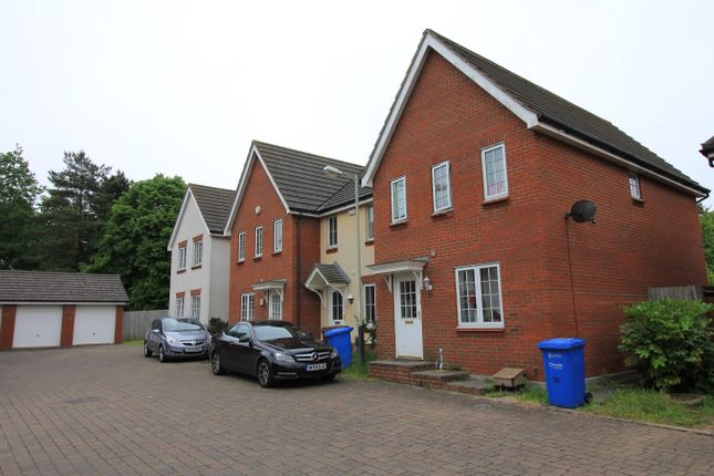 Thumbnail Town house to rent in Atkinson Close, Norwich