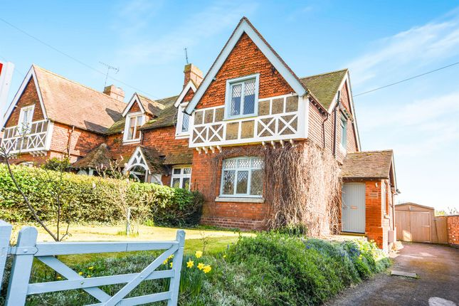 Thumbnail End terrace house for sale in Manor Road, Medbourne, Market Harborough