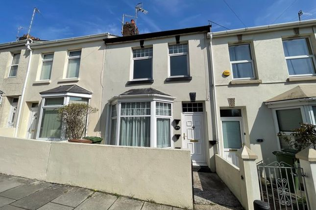 Thumbnail Terraced house to rent in Chapel Way, Plymouth