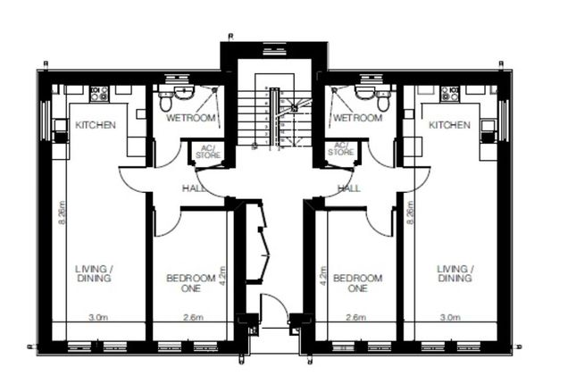 Flat for sale in Charles King Court, Shifnal