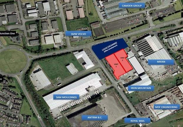 Thumbnail Warehouse to let in Meadowlands, 63 Greystone Road, Antrim, County Antrim