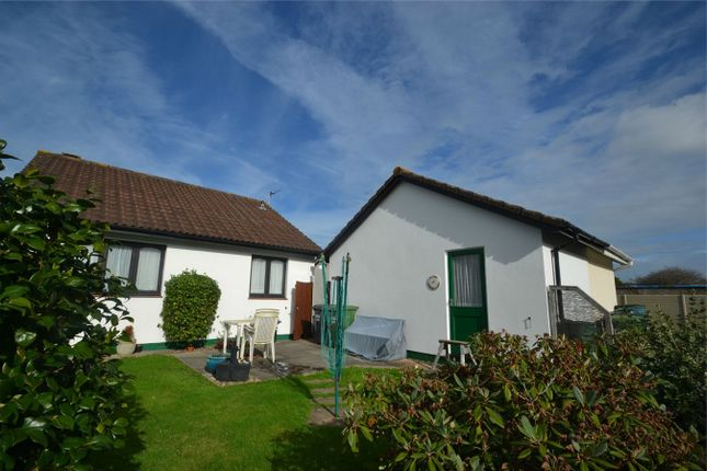 Thumbnail Detached bungalow for sale in Bickington, Barnstaple, Devon