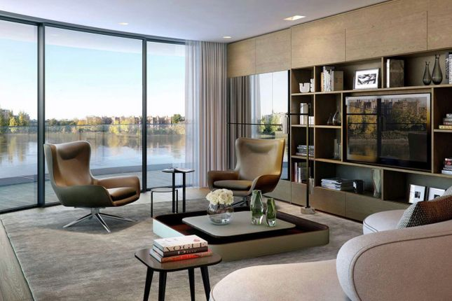 Thumbnail Flat for sale in Faulkner House, Fulham Reach, London