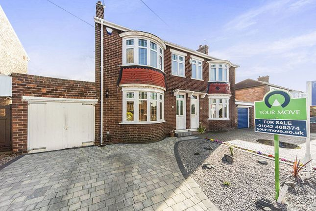 Thumbnail Semi-detached house for sale in Ambleside Road, Normanby, Middlesbrough