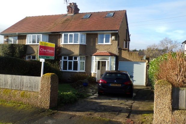 Thumbnail Semi-detached house to rent in Hillside Road, West Kirby, Wirral