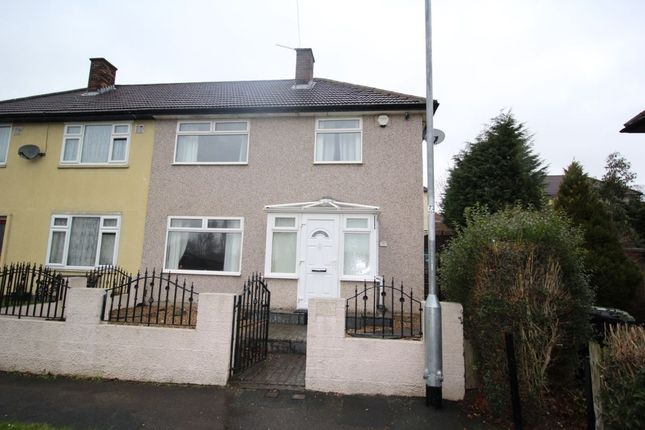 Thumbnail Semi-detached house for sale in North Parkway, Seacroft, Leeds