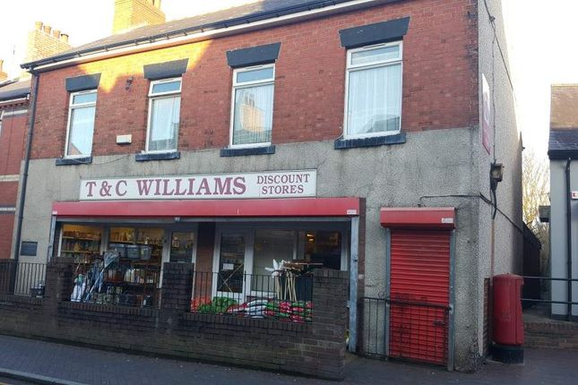 Thumbnail Retail premises for sale in Market Street, Rhosllanerchrugog, Wrexham