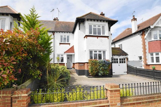 Thumbnail Semi-detached house for sale in Highlands Boulevard, Leigh-On-Sea, Essex