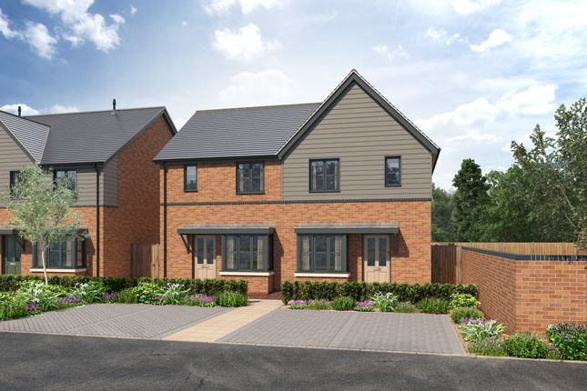 Thumbnail Semi-detached house for sale in Off Sparrowhawk Way, Telford, Shropshire