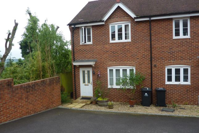 Thumbnail Semi-detached house to rent in Bigstone Meadow, Tutshill, Chepstow