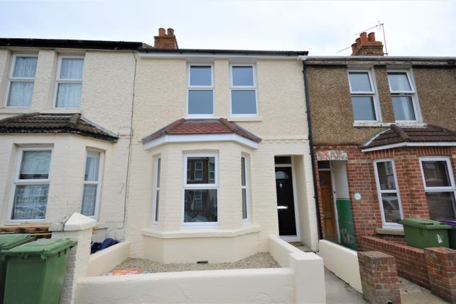 Thumbnail 2 bed terraced house to rent in Albert Road, Folkestone, Kent
