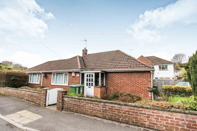 Thumbnail Detached bungalow for sale in Dale Valley Close, Southampton