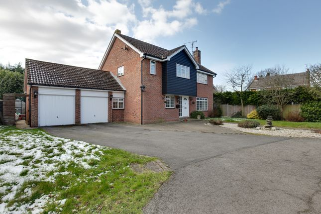 Thumbnail Detached house for sale in Millers Close, Barnston, Dunmow