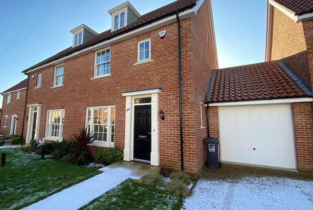3 bed semi-detached house to rent in Kemp Road, North Walsham NR28