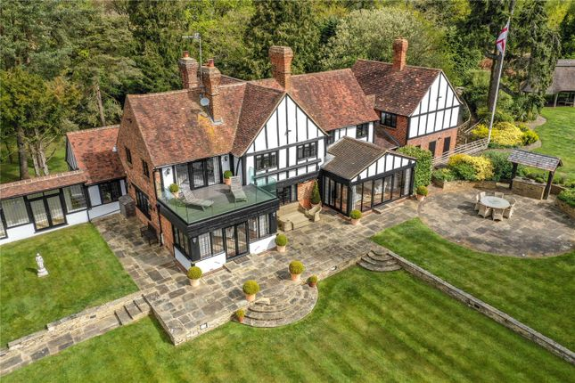 Thumbnail Detached house for sale in Westerham Road, Oxted, Surrey