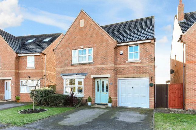 Thumbnail Detached house for sale in Croyland Drive, Elstow, Bedford
