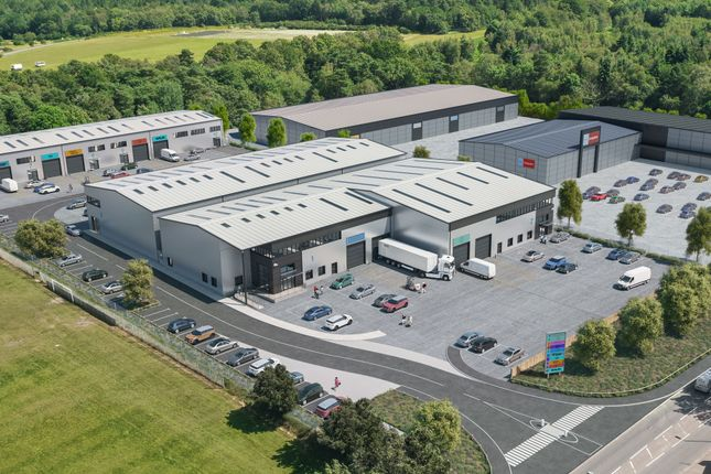 Thumbnail Industrial to let in Quantum Business Park, Beacon Hill Road, Church Crookham, Fleet