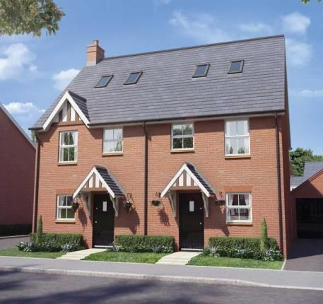 Thumbnail Semi-detached house for sale in Buckton Fields, Northampton