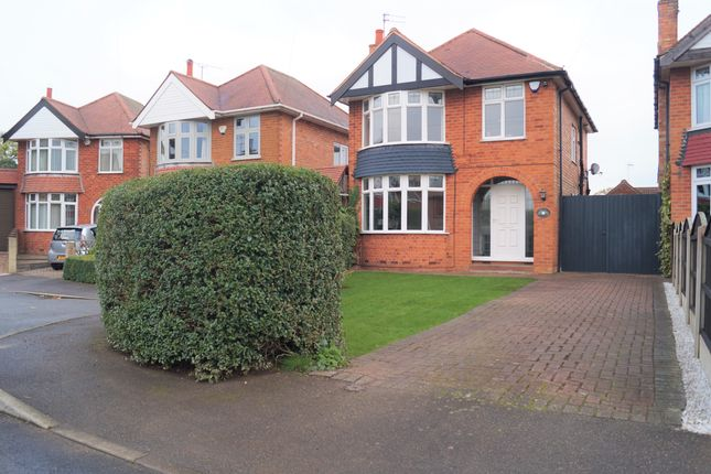 Thumbnail Detached house for sale in Maplestead Avenue, Wilford, Nottingham