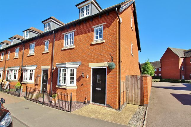Thumbnail Semi-detached house for sale in Greetham Way, Syston, Leicestershire